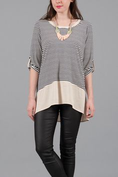 Marin Tunic in French Stripe #sale #goingfast