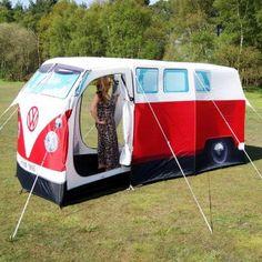 VW-Bus Zelt rot