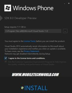 windows phone 8 applicatin platform detailed