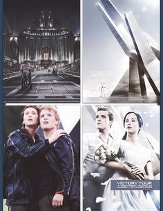 Posters: the Hunger Games and Catching Fire