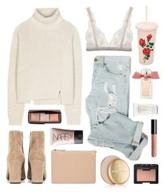 """""""Cupid's Arrow"""" by sophiehackett ❤ liked on Polyvore featuring Proenza Schouler, Chloé, Estée Lauder, ban.do, Lonely, NARS Cosmetics, Shiseido, ASOS, Yves Saint Laurent and Hourglass Cosmetics"""