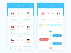 """Daily Ui Day the football feast! Thanks P🚣 ,Thanks for your advice,my brother! Press """"L"""" if you like it. Web Design, Website Design Layout, App Ui Design, User Interface Design, Flat Design, Android App Design, Android Ui, Sports App, Simple App"""