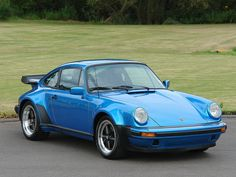 1979 Porsche 911 (930) Turbo 3.3 - Minerva Blue