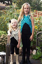 Ravelry: Isabelle Girls Vest pattern by Melissa Hoard