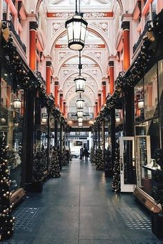 Christmas decoration of the Royal Arcade, London | by clairemenary