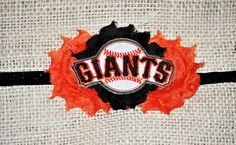 San Francisco Giants Women's, Girls, and Infant Headband. $11.25, via Etsy.