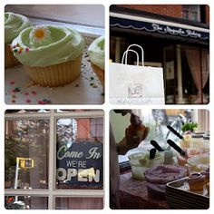 The Original Magnolia Bakery in New York City... love at first sight