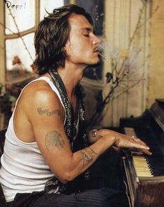 Johnny Depp, sexiest man alive, period.