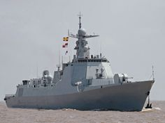 Chinese Navy (PLAN) Type 052D guided missile destroyer