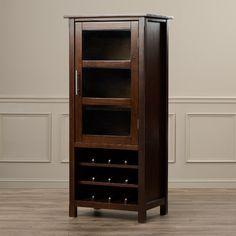 Found it at Wayfair - Ramsey Bar Cabinet with Wine Storage