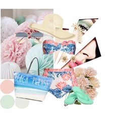 Summer Loving! by mp006875 on Polyvore featuring We Are Handsome, Ocean Minded, Topshop, Accessorize and Isabel Marant