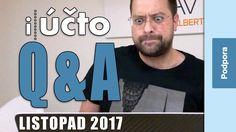 Vy se ptáte, my odpovídáme Q&A listopad 2017 iUčto.cz online účetnictví