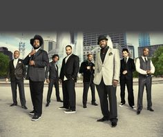 """The Roots are an American Grammy Award-winning hip hop/neo soul band, formed in 1987 by Tariq """"Black Thought"""" Trotter and Ahmir """"Questlove"""" Thompson, in Philadelphia, Pennsylvania, United States."""