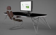 Celem projektu było stworzenie koncepcji biurka jako miejsca pracy dla użytkowników monitorów produkowanych przez NEC. Nasza propozycja zawiera w sobie przyszłą wizję nowej technologii, która po dotyku rozpozna użytkownika, a następnie dostosuje miejsce p…