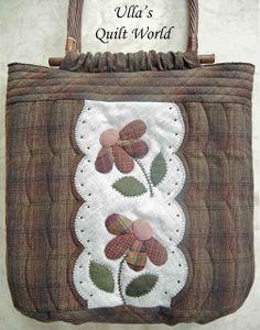 Bolsa Edredón con las flores: Colcha Mundial de Ulla