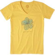 """<p>It all starts with a great tee and this Short Sleeve Crusher Vee is the Crusher you know and love with a v-neck collar. Easy to wear and perfect to layer, this tee is garment washed for everyday softness and has a slight waist shape and ribbing at the neck. You'll love its beautifully printed graphic and """"Do what you love. Love what you do.®"""" locker patch.</p>  <ul>  <li>Classic Fit</li>  <li>Designed to bare..."""