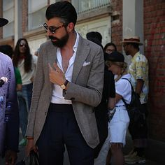 "maurodelsignore: ""On the Street Milan with Christofer Kaprelian """