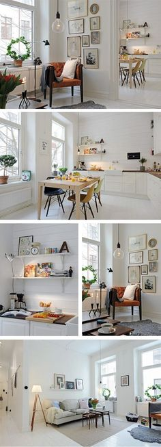 37 Cool Small Apartment Design Ideas - Design Bump:
