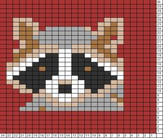 Tricksy Knitter Charts: RACCOON