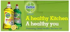 Dettol India is promoting it's brand new product Dettol Kitchen Gel by distributing free samples of it. Get your Free sample ...Hurry up .. !!