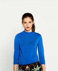 ZARA - WOMAN - HIGH NECK SWEATER 5646/203 $29.90