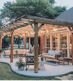 48 backyard porch ideas on a budget patio makeover outdoor spaces best of i like this open layout like the pergola over the table grill 42