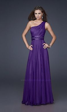 purple bridesmaid dress.... maybe with turquoise sash or accent