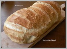 Habverő és fakanál: Házi kenyér