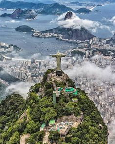"They say ""If you haven't seen Rio's Christ the Redeemer statue located in Tijuca National Park, You have never been to Brazil""."
