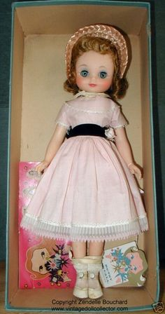 """pretty betsy mccall doll 14"""" ~ american character 1959"""