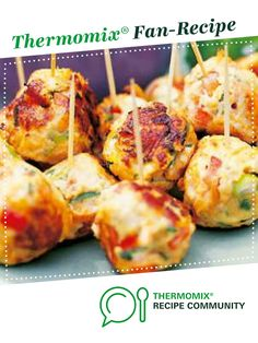 Thai chicken balls by hsyred. A Thermomix ® recipe in the category Starters on … Thermomix Recipes Healthy, Healthy Chicken Recipes, Asian Recipes, Cooking Recipes, Chicken Starter Recipes, Chicken Balls, Mince Recipes, Thai Chicken, Appetizers