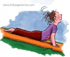 Free Valentine's Day heart-opening kids yoga sequence for your classroom, home, or studio