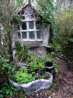 A Fairy tale home.    (I bet the bathroom is  far out!...but hopefully not far out in the woods ;-))