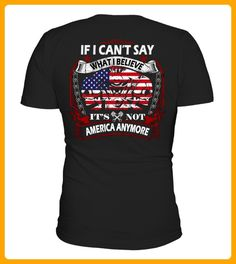 IF I CANT SAY WHAT I BELIEVE IT IS NOT AMERICA ANYMORE - Ostern shirts (*Partner-Link)