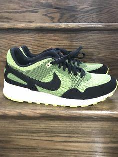 separation shoes fe618 43b58 New Mens Nike Air Pegasus 89 Jacquard VoltBlack Running Shoes Sz. 12 ID
