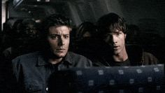 You still think it's hilarious that Dean Winchester, hunter of creatures galore, is afraid of riding on airplanes.