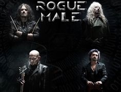 ROGUE MALE, other great friends of mine, excellent UK hard rock band :) (the drummer is not in the band anymore)