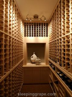 """Closet is 81"""" high - floor to ceiling racks both sides - like the Allavino racks in this board.  Room is 60"""" across. Single bottle depth on both sides. Each rack is 12.25 inches deep. Add 2"""" insulation and we get 28.5"""" of Stuff on sides = 31.5 inches down the middle"""
