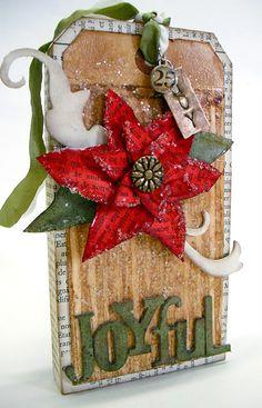 Sweet Christmas tag
