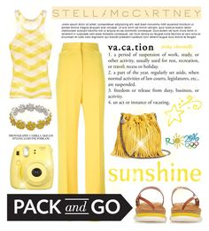 """""""Pack and Go - Rio: 08/08/16 (WGC)"""" by pinky-chocolatte ❤ liked on Polyvore featuring STELLA McCARTNEY, Fujifilm and Napier"""