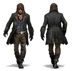 Jacob in his standard Assassin attire Jacob in his Master Assassin outfit