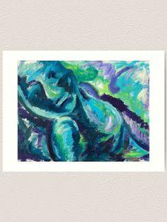 Global Gallery Mary Urban Polar Friends IV Giclee Stretched Canvas Artwork 24 x 32
