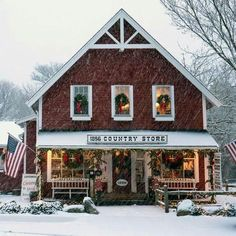 1856 Country Store Centerville, Massachusetts a great place to shop for souvenirs of your visit to Cape Cod and then go around the corner to 4 Seas Ice Cream Shop for homemade ice cream. the best! Decoration Christmas, Noel Christmas, Country Christmas, All Things Christmas, Winter Things, Primitive Christmas, Primitive Snowmen, Christmas Tree Farm, Primitive Crafts