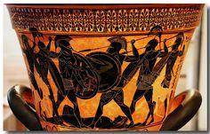 Ancient Greek pottery decoration