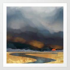 Storm Light Art Print by SpaceFrogDesigns - X-Small Artwork Prints, Fine Art Prints, Canvas Prints, Aluminium Sheet, From The Ground Up, Affordable Art, Light Art, Buy Frames, Metal Wall Art