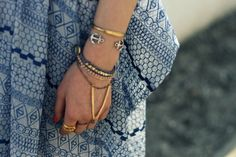 Thread & Stone 'Dakota Bracelet' on the lovely @natalieoffduty #coachella #threadandstone