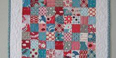 Elizabeth's Fabric Focus ~ Quick-Piece Tiny Squares