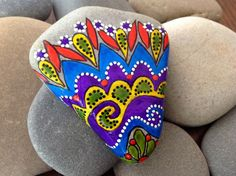 Happiness / Painted Rock Sandi Pike Foundas / by LoveFromCapeCod