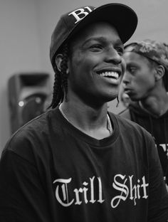 ASAP Rocky. He is so darn handsome, must be the smile. And He is super nice in person. Humble.