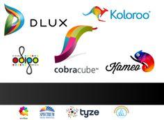 39 logotipos muy coloridos y creativos @♚ Alvaro